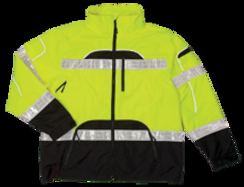 ML Kishgo Brilliant Series Lime Rainwear Jacket