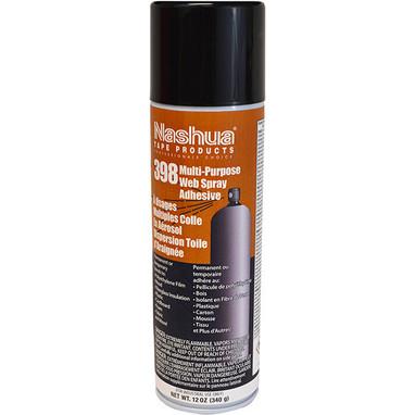 Nashua 398SA Multi-Purpose Web Spray Adhesive 12/cs