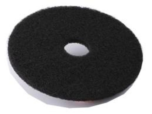 "17"" Black Floor Pads"