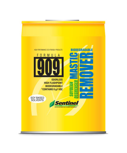 Sentinel 909 Soy-Based Mastic Remover 5 gallon