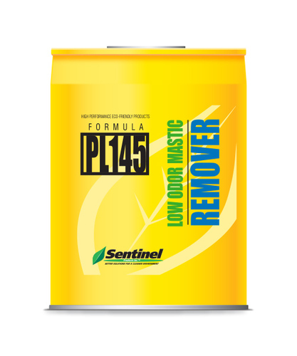Sentinel PL145 Low Odor Mastic Remover 5 Gallon