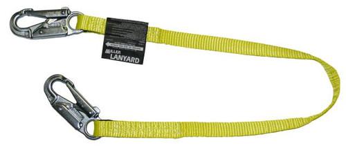 Miller 3 ft. Web Lanyard w/2 Locking Snap Hooks - 213WLS-Z7/3FTYL