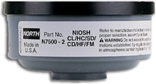North by Honeywell  Acid Gas Filter 2/pack [N75002]