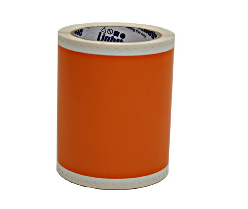 4 1/3 In. X 49 Ft. Premium Vinyl -  Orange