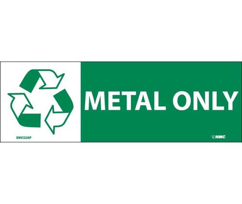 (Graphic) Metal Only 7.5X2.5 Ps Vinyl 5/Pk