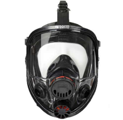 North by Honeywell 7600 Series Full Face Silicone Respirator - 760008A