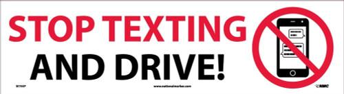 (Graphic) Idling Of Vehicles Is Prohibited 18X12 .080 Egp Alum