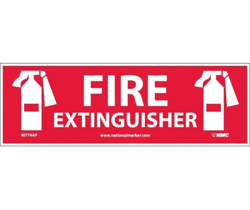 (Graphic) Fire Extinguisher (Graphic) 4X12 Ps Vinyl 25/Pk