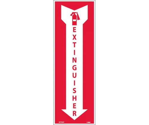 (Graphic) Extinguisher 4X12 Ps Vinyl 25/Pk