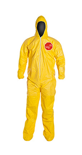 DuPont Tychem® 2000 Yellow Coverall - QC122S YL