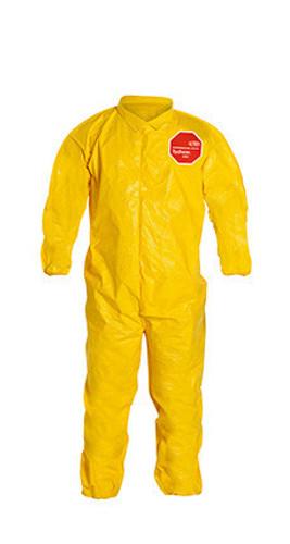 DuPont Tychem® 2000 Yellow Coverall - QC125B YL