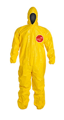 DuPont Tychem® 2000 Yellow Coverall - QC127T YL
