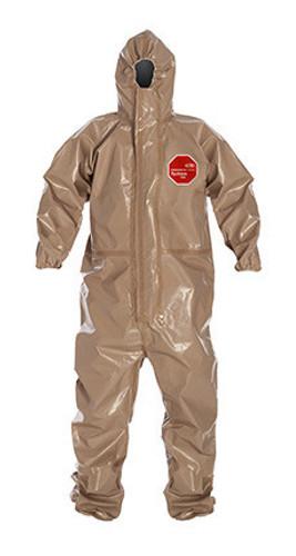 DuPont Tychem® 5000 Tan Coverall - C3198T TN BN