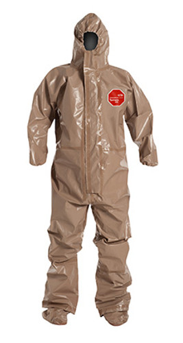 DuPont Tychem® 5000 Tan Coverall - C3199T TN BOOT