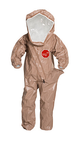 DuPont Tychem® 5000 Tan Coverall - C3525T TN BOOT