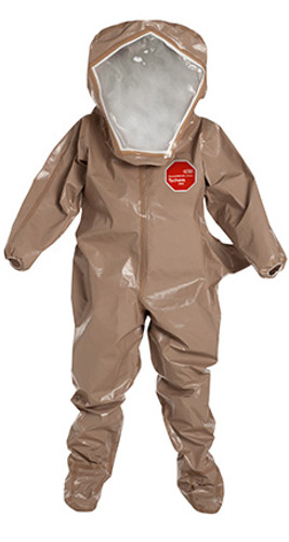 DuPont Tychem® 5000 Tan Coverall - C3526T TN BOOT