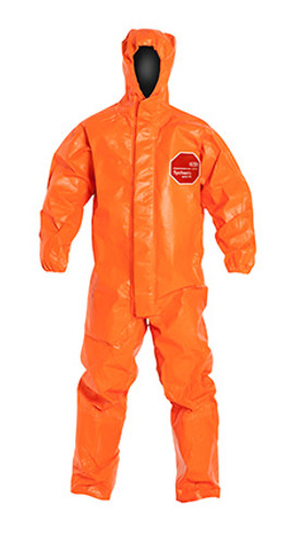 DuPont Tychem® 6000 FR Orange Coverall - TP198T OR BN