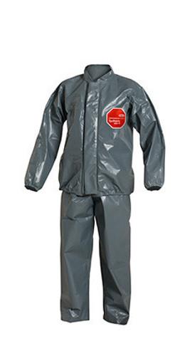 DuPont Tychem® 6000 FR Gray Jacket/Bib Overall - TP750T GY