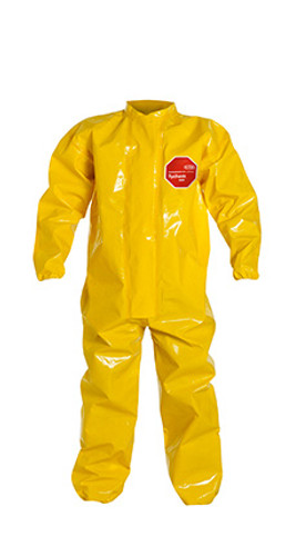 DuPont Tychem® 9000 Yellow Coverall - BR125T YL