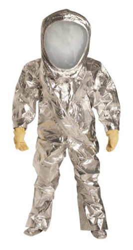 DuPont Tychem® 10000 FR Silver Coverall - RF600T SV 7S