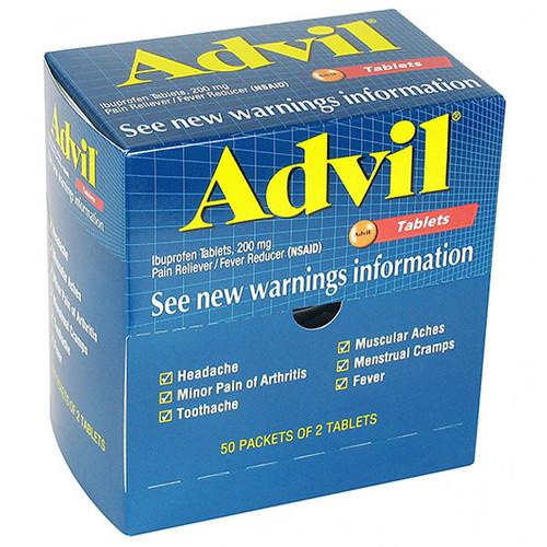 Advil, 2 Pkg/50 ea - 15000