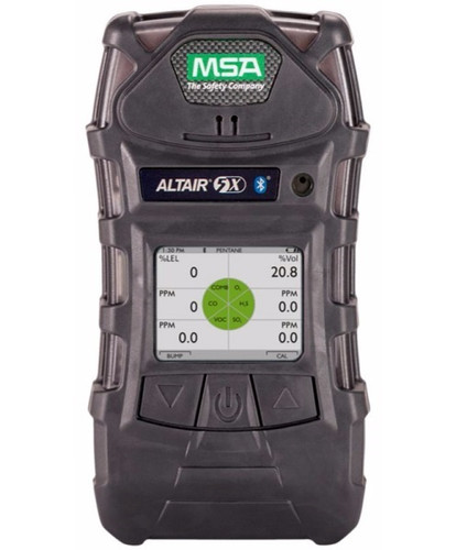 MSA ALTAIR 5X Color Display and Bluetooth Multigas PID Detector 10165446