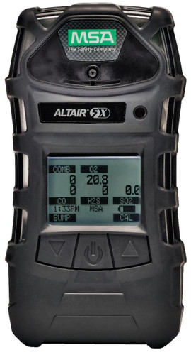 MSA ALTAIR 5X Multigas Detector [LEL, O2, Co, H2S, SO2] - 10116925