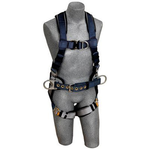 3M DBI-SALA  ExoFit Construction Style Positioning/Climbing Harness 1108978 Medium