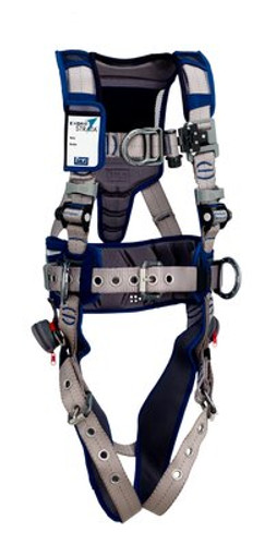 3M DBI-SALA  ExoFit STRATA Construction Style Positioning/Climbing Harness 1112572 Large