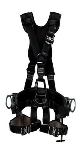 3m dbi-sala exofit nex lineman suspension harness with 2d belt 1113578  x-large