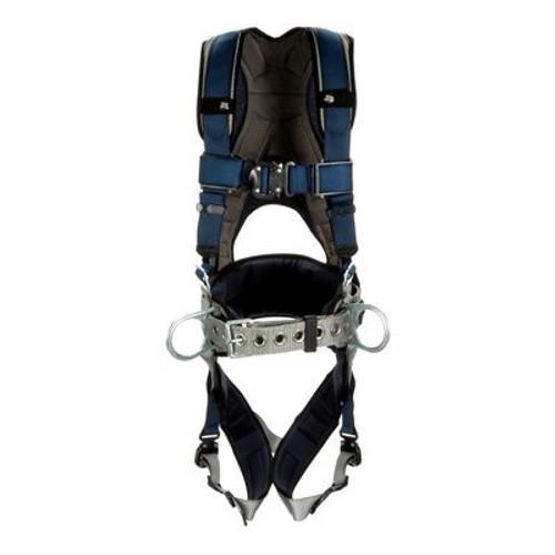 3M DBI-SALA ExoFit Plus Comfort Construction Style Positioning Harness 1140054 - X-Small - Blue