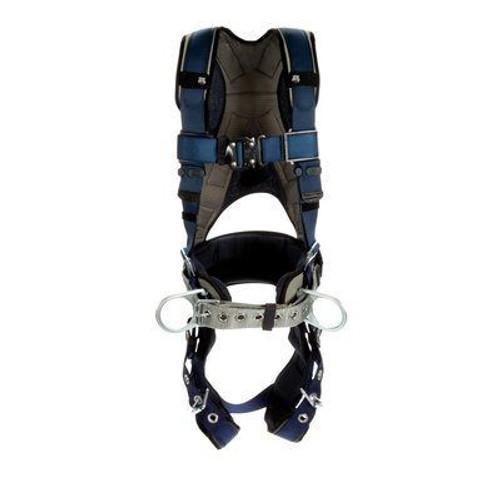 3M DBI-SALA ExoFit Plus Comfort Construction Style Positioning Harness 1140079 - Small - Blue