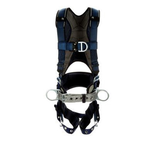 3M DBI-SALA ExoFit Plus Comfort Construction Style Positioning/Climbing Harness 1140088 - X-Large - Blue