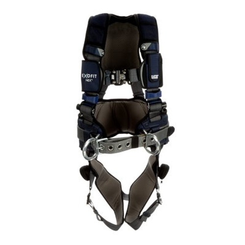 3M DBI-SALA ExoFit NEX Plus Comfort Construction Style Positioning Harness 1140157 - Small - Gray