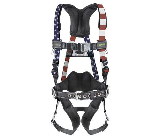 Miller AirCore Patriotic Harness with Steel Hardware