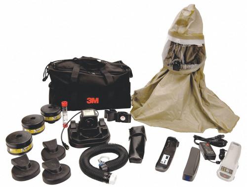 3M RBE-10BR First Responder Hood CBRN NiMH Battery PAPR System