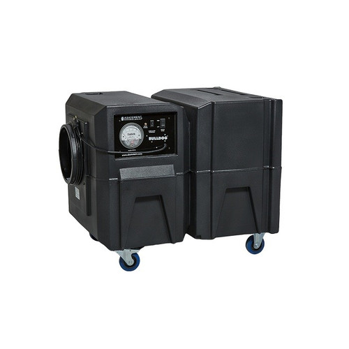 Abatement Technologies Bulldog Deluxe BD2KMA Negative Air Machine (1300cfm/2000cfm)
