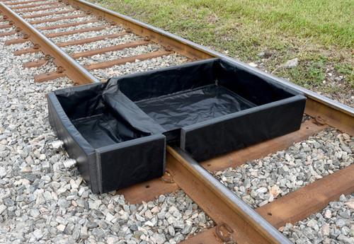 UltraTech Track Berm - 40 mil PVC - 4' x 6' x 1' - 8490