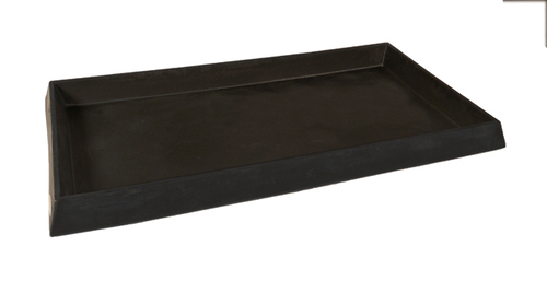 UltraTech Containment Tray:  No Grate - Black - 2328