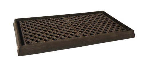 UltraTech Containment Tray:  With Grate - Black - 2350