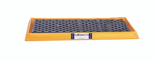 UltraTech Containment Tray:  With Grate - Yellow - 2352