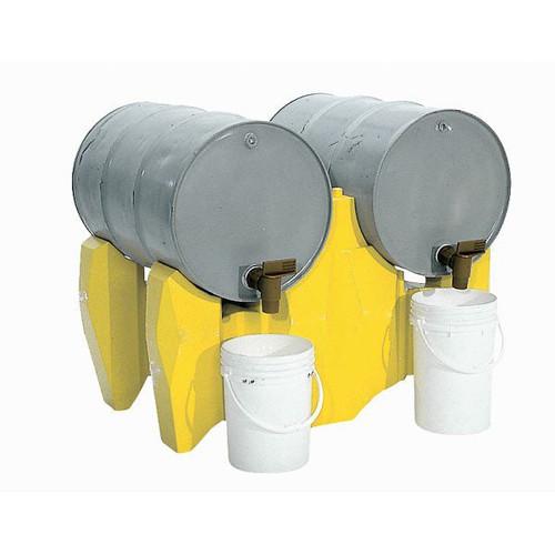 UltraTech Drum Rack P2 - Polyethylene - two -drum horizontal rack - 2389