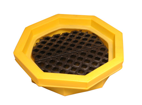 UltraTech Drum Tray - With Grate - 1046
