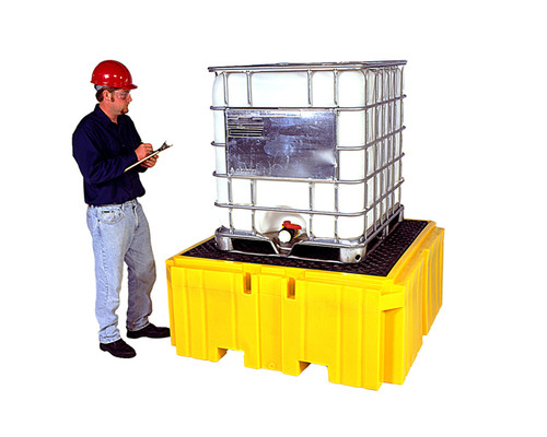 UltraTech IBC Spill Pallet Plus - With Drain - 1158