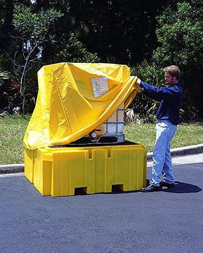 UltraTech IBC Spill Pallet Plus Pullover Cover - 1159