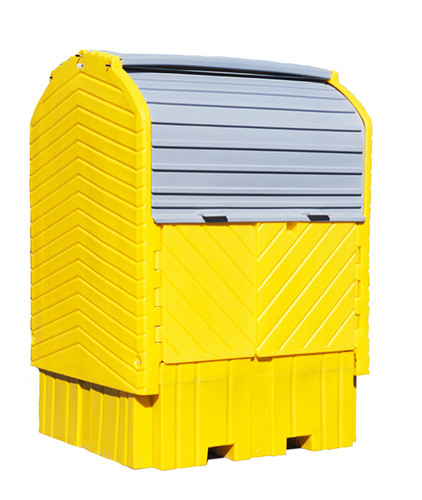 UltraTech IBC Hard Top - With Drain. - 1161