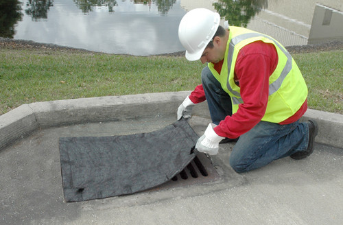 UltraTech Inlet Guard - 2'x4' grate only model - no overflow port - Sediment Model - 9172