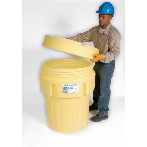 UltraTech Overpack Plus Lid Only - 95 - Yellow - 0588