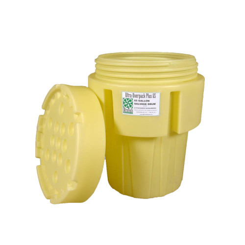 UltraTech Overpack Plus Lid Only - 65 - Yellow - 0589