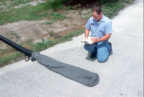 "UltraTech Pipe Sock  - Oil & Sediment  Model - for 16"" Dia. Pipe - 9707-OS"